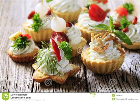 canapes dictionary variety of canapes royalty free stock photo image 15604195