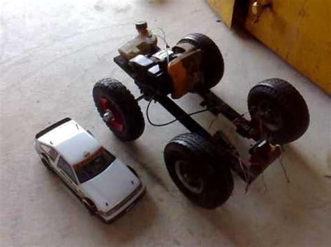 homemade cc petrol rc car build update youtube