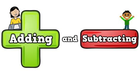 Adding And Subtracting (song For Kids About Additionsubtracting) Youtube