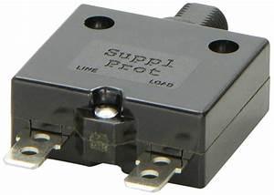 Cb41220 Sierra Boat Manual Reset Circuit Breaker 15 Amps