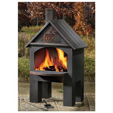 How To Use A Chiminea For Cooking by Castlecreek Cabin Cooking Steel Chiminea 281492