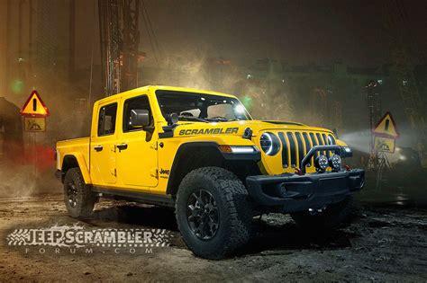renderings posted   jeep scrambler pickup medium duty work truck info