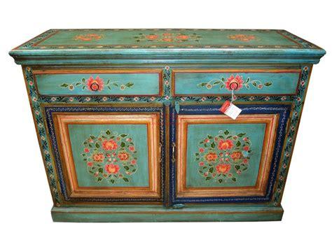 credenza decorata credenza indiana decorata colore verde g1011 orissa