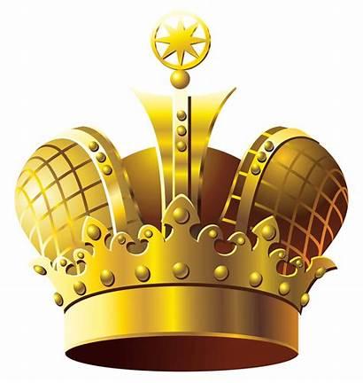 Crown Golden Clipart Transparent Crowns Clip Jewels