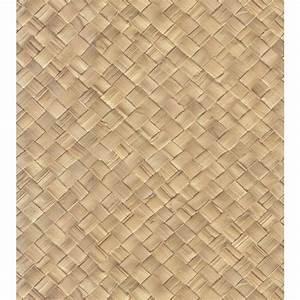 The Wallpaper Company 56 sq. ft. Dark Brown Wood Paneling ...