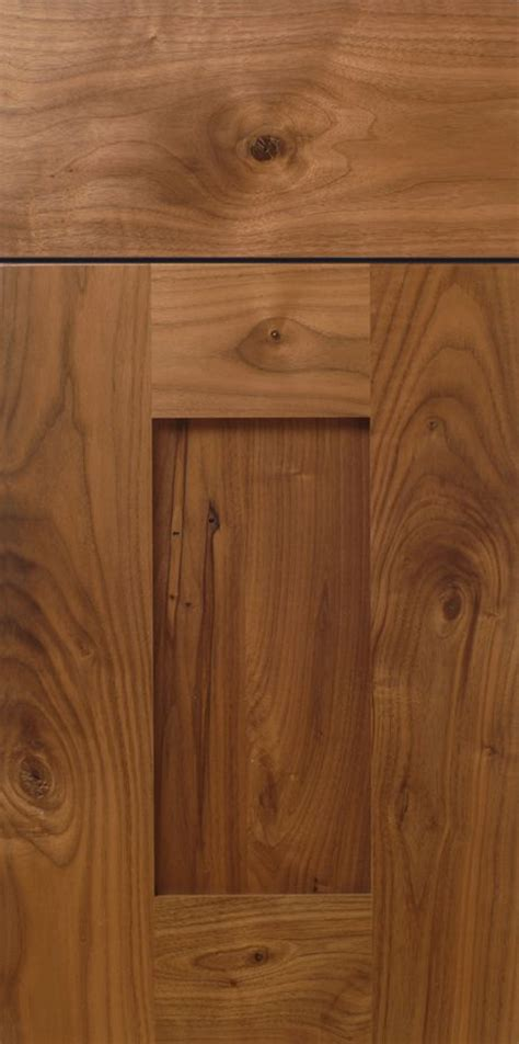 cabinet stiles and rails rustic walnut shaker cabinet door design with stiles and