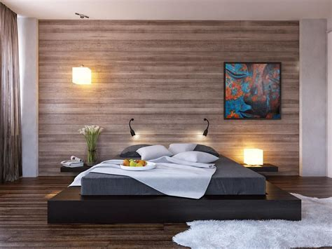 Minimalist Bedroom Design For Small Rooms Upholstered