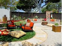 outdoor design ideas Backyard Fire Pit Ideas with Simple Design