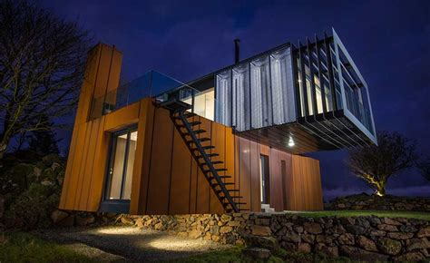 A Unique Shipping Container Home   Homebuilding & Renovating