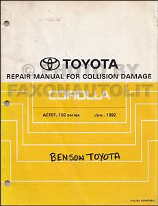Diagram  1997 Toyota Avalon Service Repair Shop Set Oem
