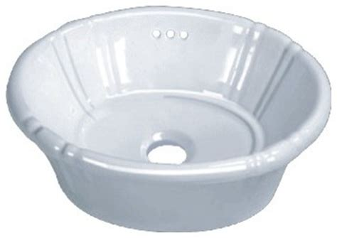14 inch round vessel sink porcelain ceramic vanity drop in bathroom vessel sink 17