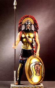 Statues & Busts :: Ancient Greek Heroes :: Spartan Warrior ...