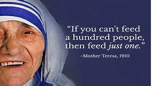 Top 10 Inspirational Quotes From Mother Teresa - YouTube