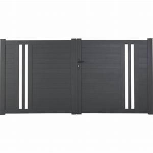 Portail En Fer Lapeyre : portail alu lapeyre petit portillon bois expression maison ~ Premium-room.com Idées de Décoration