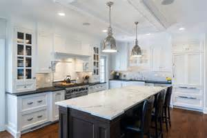 Kitchen Island Marble Top Granite Or Marble Kitchen Island Countertops