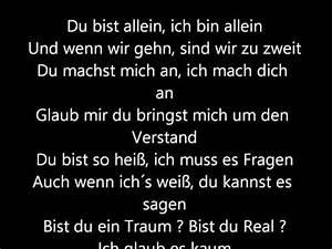 Du Bist Ein Traum : kc rebell bist du real lyrics letssingit lyrics ~ Orissabook.com Haus und Dekorationen