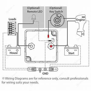 12v Split Charge Relay Wiring Diagram