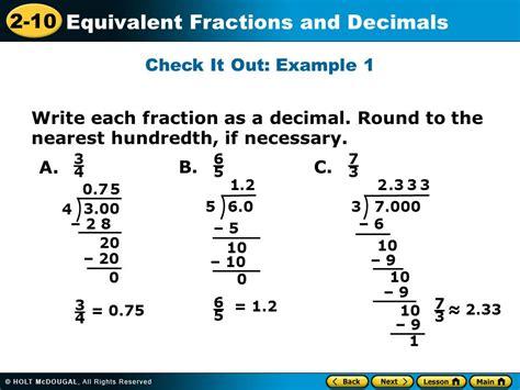 7 over 6 as a decimal
