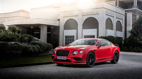 Bentley Continental Supersports 2017 4k Wallpaper