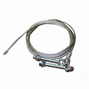 cables pour porte sectionnelle de 2500 mm maxi de hauteur With cable porte de garage sectionnelle cassé