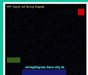 1979 Toyota 4x4 Wiring Diagram  Wiring Diagram 174511