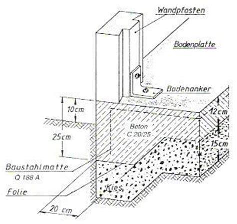 Die Bodenplatte Selbst Betonieren Auf Den Fundamentplan Kommt Es An by Beton Ohne Kies Mischungsverh 228 Ltnis Zement