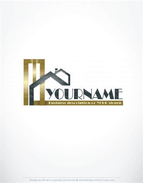exclusive design golden real estate logo compatible