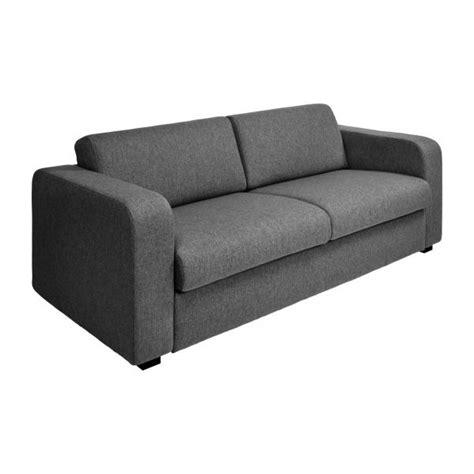 porto 3 canapé lit 2 places en tissu habitat