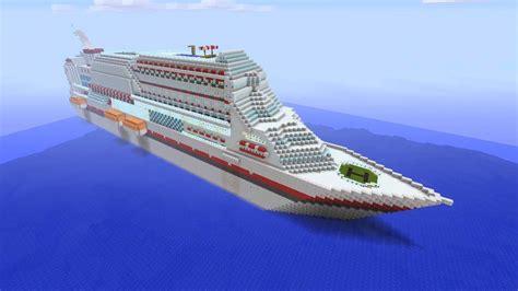 minecraft xbox massive cruise ship youtube
