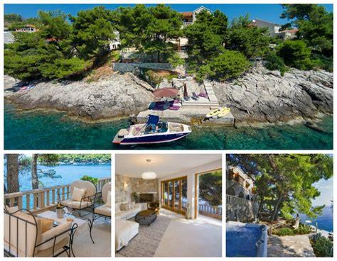 hotel chambre ile de maisons pieds dans l eau et villas avec vue mer pour vos