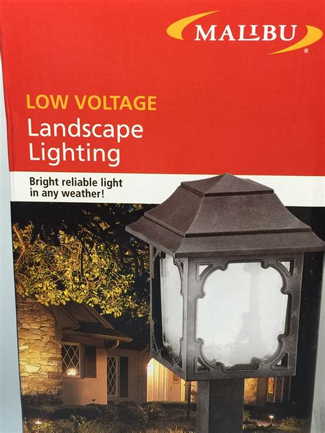 malibu low voltage landscape lighting 7 watt model cl083ob