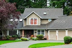 American, Suburban, Home, Stock, Photo, -, Download, Image, Now