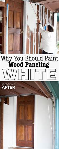how to paint paneling How to Paint Wood Paneling Successfully - In My Own Style