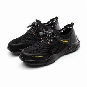 Sq Series 777 Black Safety Trainer Shoes  U2013 Jubang Safety