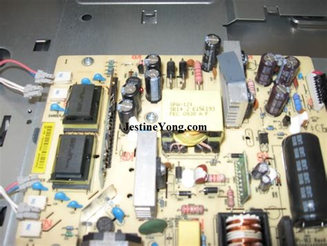 how to repair lcd monitor flicker hp2509m electronics repair and technology news