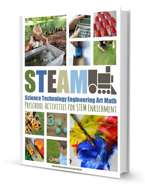 steam preschool activities for stem enrichment e book and 624 | cover