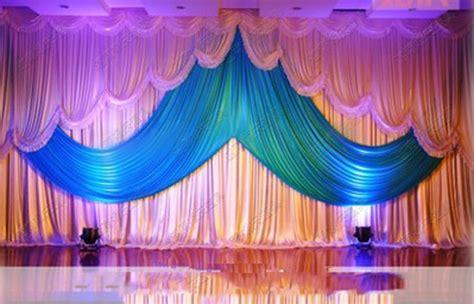 wedding arrangement stage curtain mxm background