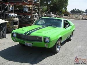 1969 AMC AMX BIG BAD GREEN