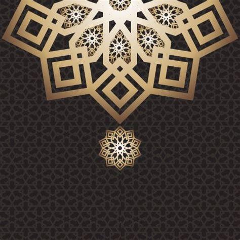 eid mubarak card arabic design dark eid arab arabic