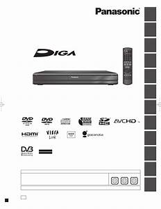 Panasonic Dmr-xw350 Operation Manual