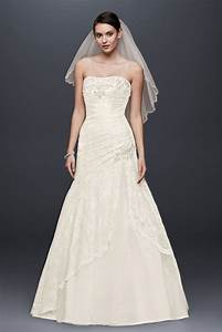 a line side split wedding dress with all over lace style With wedding dress with split