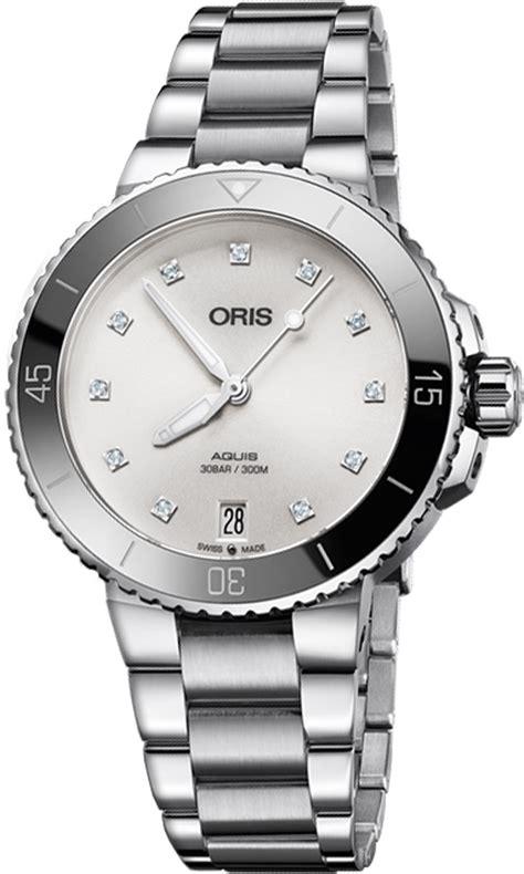 Discounted Oris Aquis Date Diamonds 73377314191MB