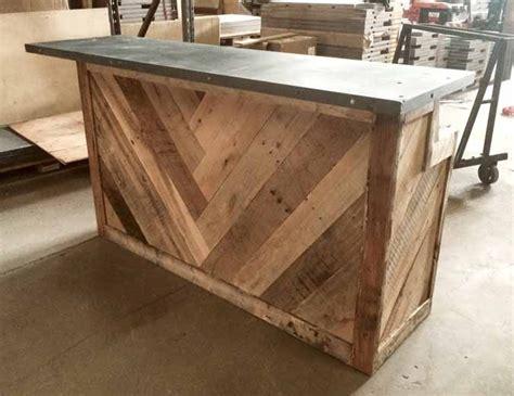 fabriquer un comptoir de cuisine en bois fabriquer un bar fabriquer un bar plan pour construire