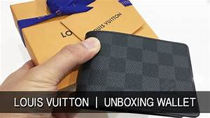 Louis Vuitton 2017 Review Mens Slender Wallet Unboxing LV ...