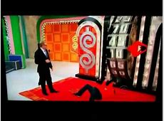 Price Is Right wheel spin fail YouTube