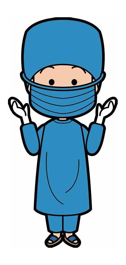 Surgery Clip Surgeon Medical Clipart Cartoon Doctor
