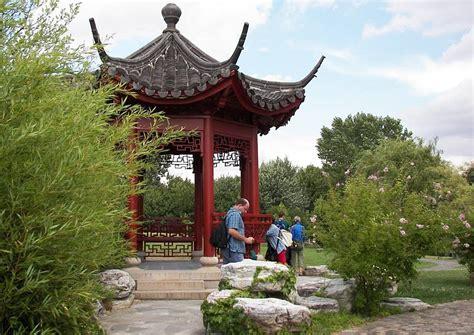 Chinesischer Garten Berlin Marzahn Pavillon Wohngärten In