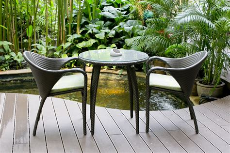 bistro chairs decorate your home with garden furniture ward log homes