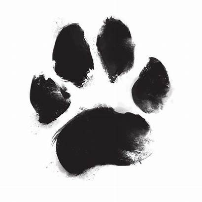 Paw Ink Dog Footprint Pet Urns Lawnswood