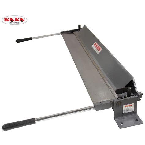 kaka wx mm sheet metal bending brake ga mild steel   kang industrial pty